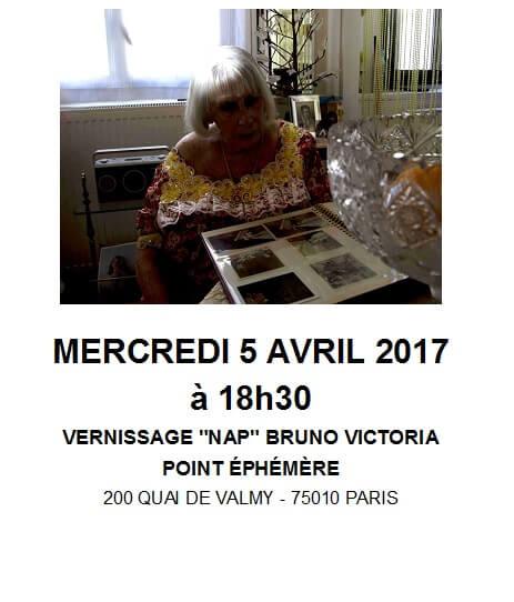 Vernissage exposition photographique «NAP» par Bruno Victoria